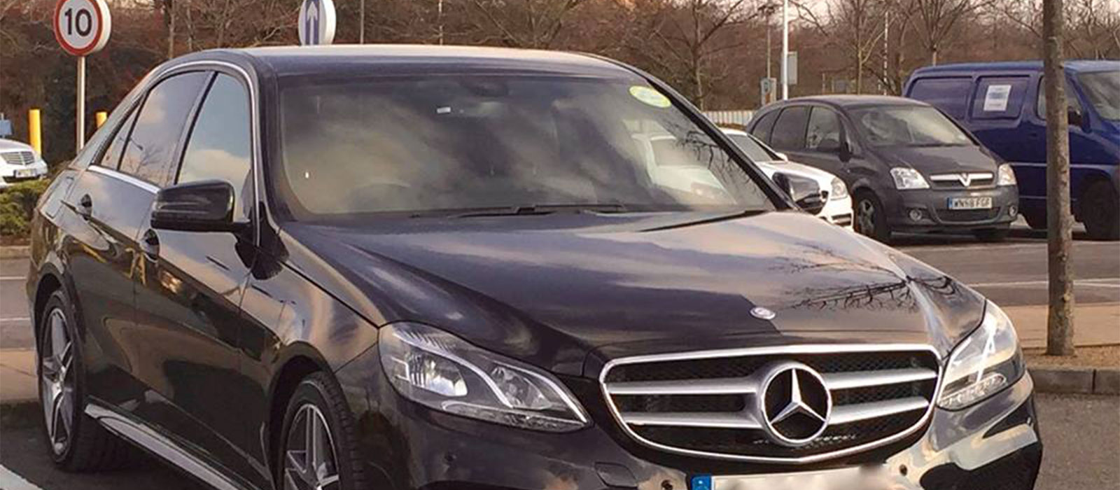 London Mercedes Benz E- Class Chauffeur Driven-car Hire Services