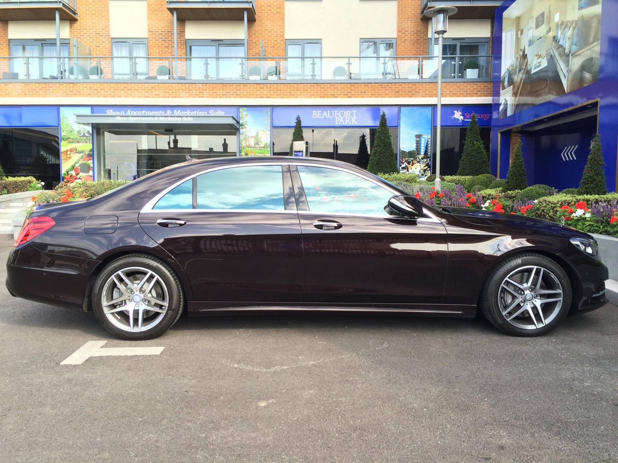 London Chauffeur  Driven S Class Car Services
