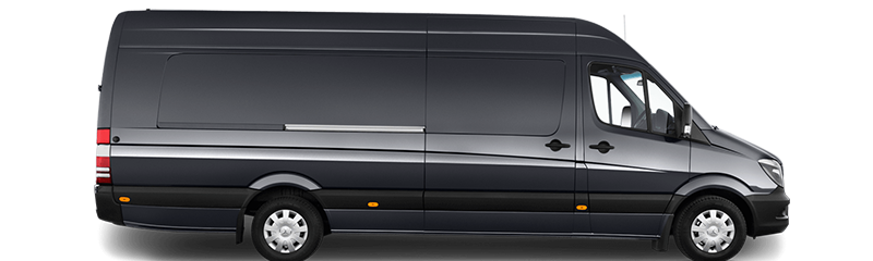 Book Mercedes Sprinter 16 Seater Chauffeur For Your Transportation